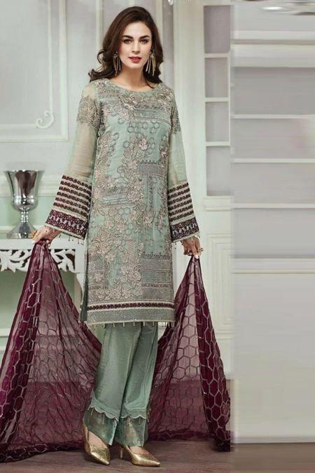 Jazmin custom stitch salwar Kameez style Wedding Dress MAYSORI collection