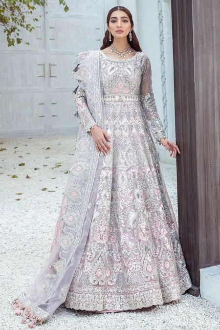 Maryum N Maria custom stitch Long Frock style Wedding Dress Enlightened Triumph (F-01) Freesia Premium