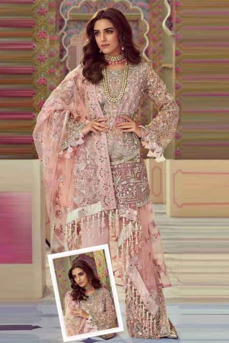 CRIMSON  custom stitch Salwar Kameez style Wedding Dress X REPBULIC Collection