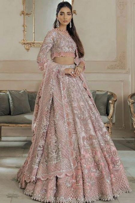 Elan custom stitch Long Maxi style Wedding Dress Lehenga Choli Collection