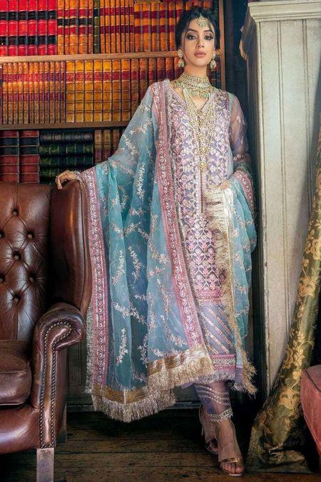 Sobia Nazir custom stitch Salwar Kameez style Wedding Dress Nayaab Festive Collection