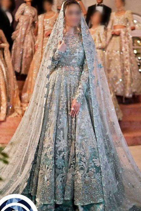Elan custom stitch Long Maxi style Wedding Dress Bridal Collection