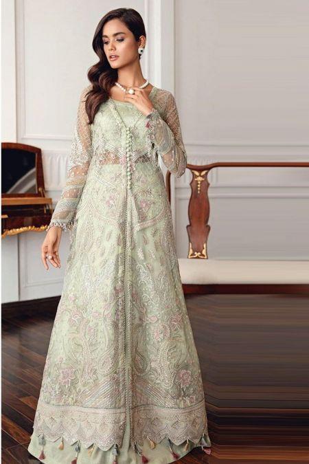 Jazmin custom stitch Long Frock style Wedding Dress MELIA A