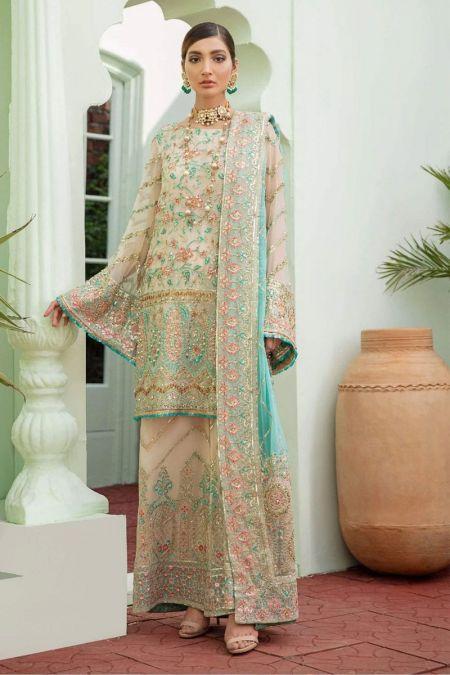 MashQ custom stitch Flapper Kameez style Wedding Dress Merry Marvelous (MW-04)