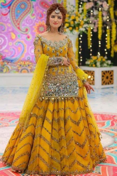 Kashee custom stitch Lehenga style Wedding Dress Bridal Collection